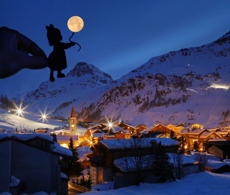 Val, d'Isere, France
