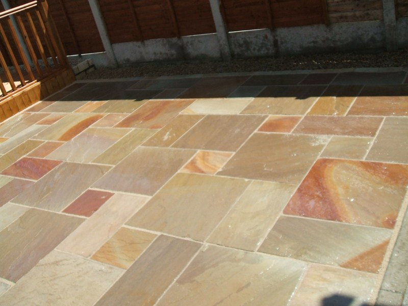 How To Clean Indian Sandstone Paving Slabs Demilked