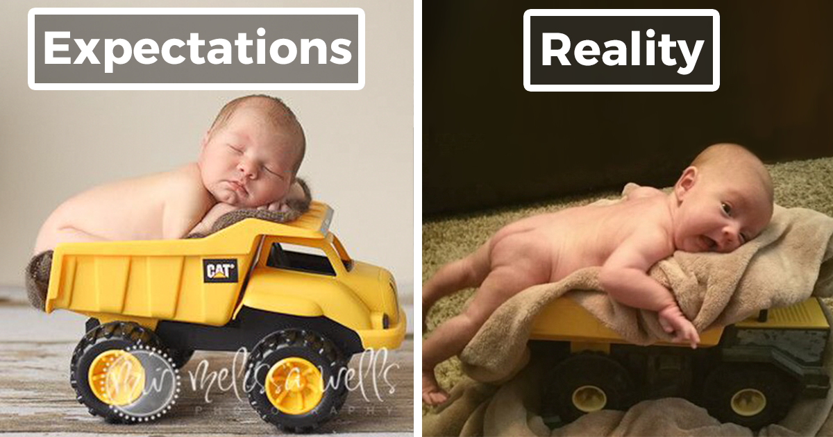 60 Funny Pinterest Baby Photoshoots Gone Wrong | DeMilked