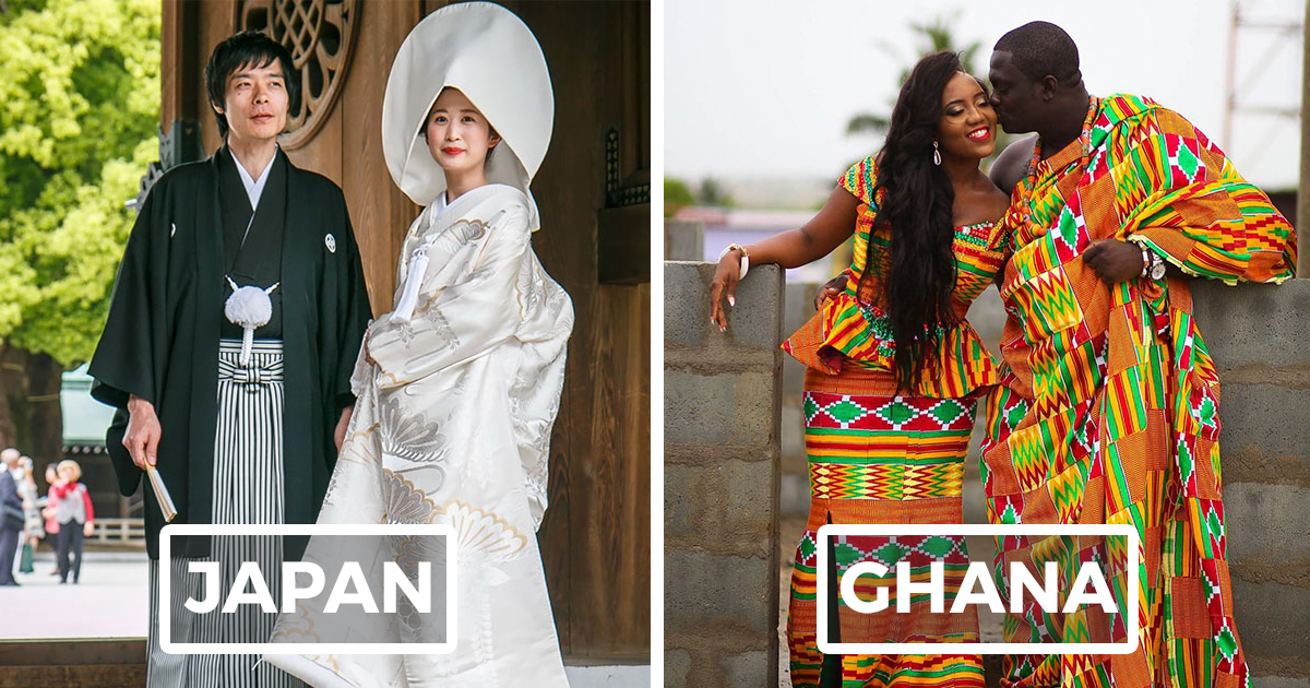 Wedding Dresses Around The World: 15 Traditional Wedding Outfits From Around The World