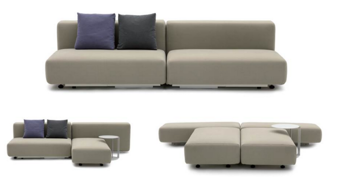advantage of convertible furniture for a compact living space