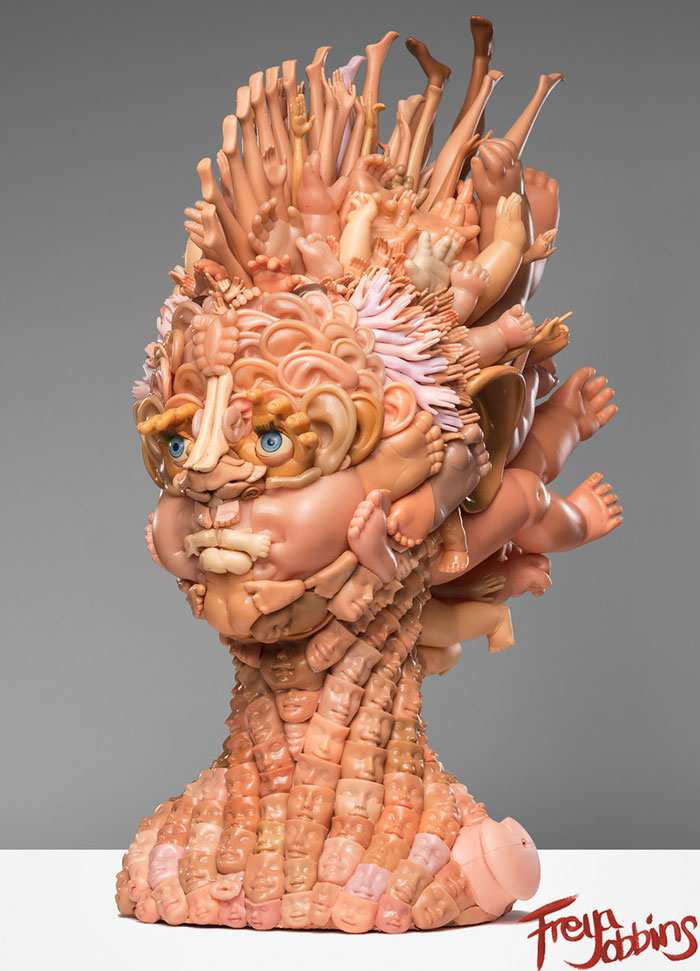 Artist Turns Old Dolls Into Creepy Yet Amazing Sculptures | DeMilked