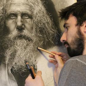 Artist Spends 100s Hours Drawing Photo Realistic Pencil Portraits Using  Renaissance Techniques