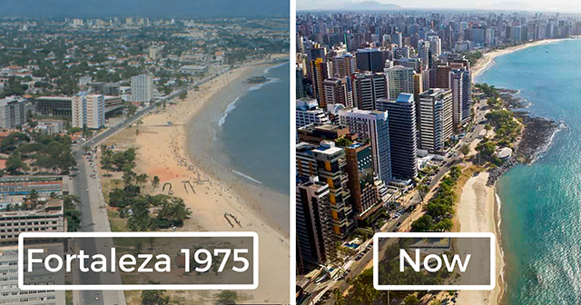 BeforeAndAfter Pics Of The Iconic Cities Around The World - Before and after world