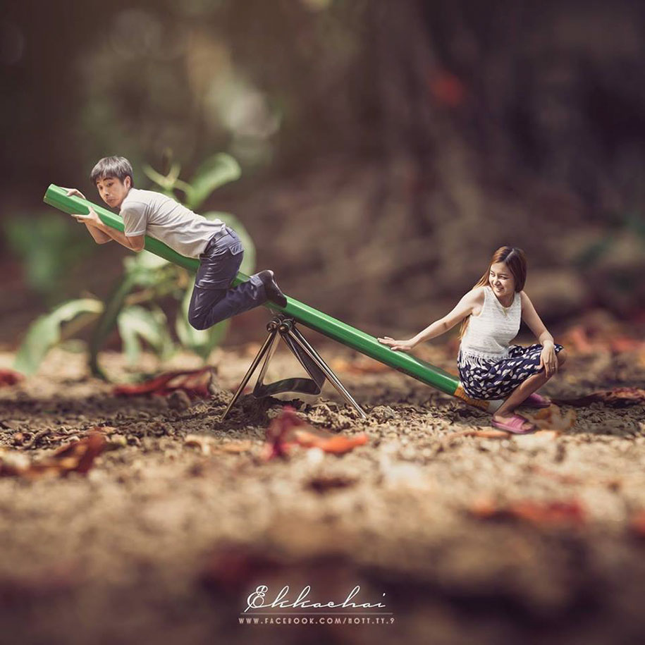 miniature-wedding-photography-ekkachai-saelow-thailand-2