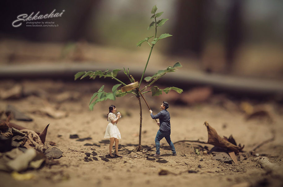 miniature-wedding-photography-ekkachai-saelow-thailand-8