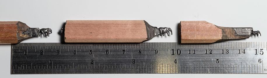 pencil-carving-graphite-art-elephant-walk-cindy-chinn-1