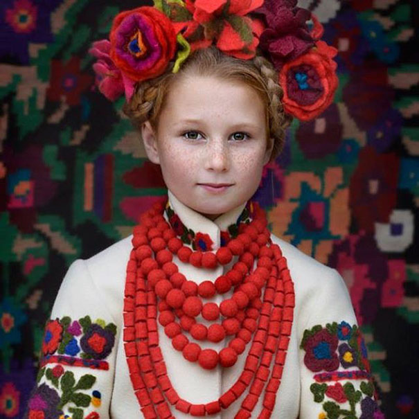 Ukrainian Women Photo Traditional Ukrainian 117