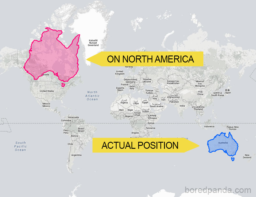 #11 Australia Moved Onto North America Becomes REALLY Big