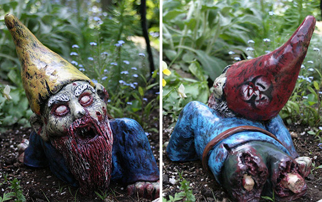 Zombie Gnomes Are A Perfect Way To Keep Everyone From Your ...