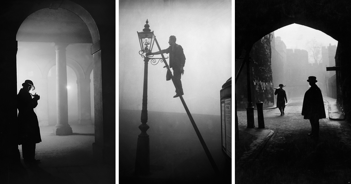 Vintage Photographs Of London Fog That Inspired Numerous