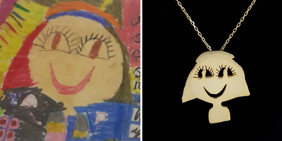 artists-turn-children-doodles-into-jewelry-yasemin-erdin-ozgur-karavit-6