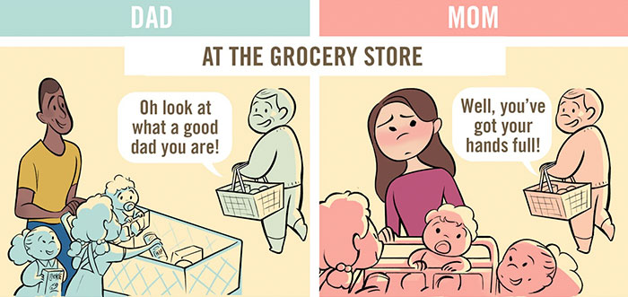 dad-vs-mom-parenting-stereotypes-comics-chaunie-brusie-4
