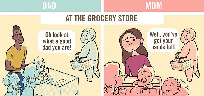 dad-vs-mom-parenting-stereotypes-comics-chaunie-brusie-4