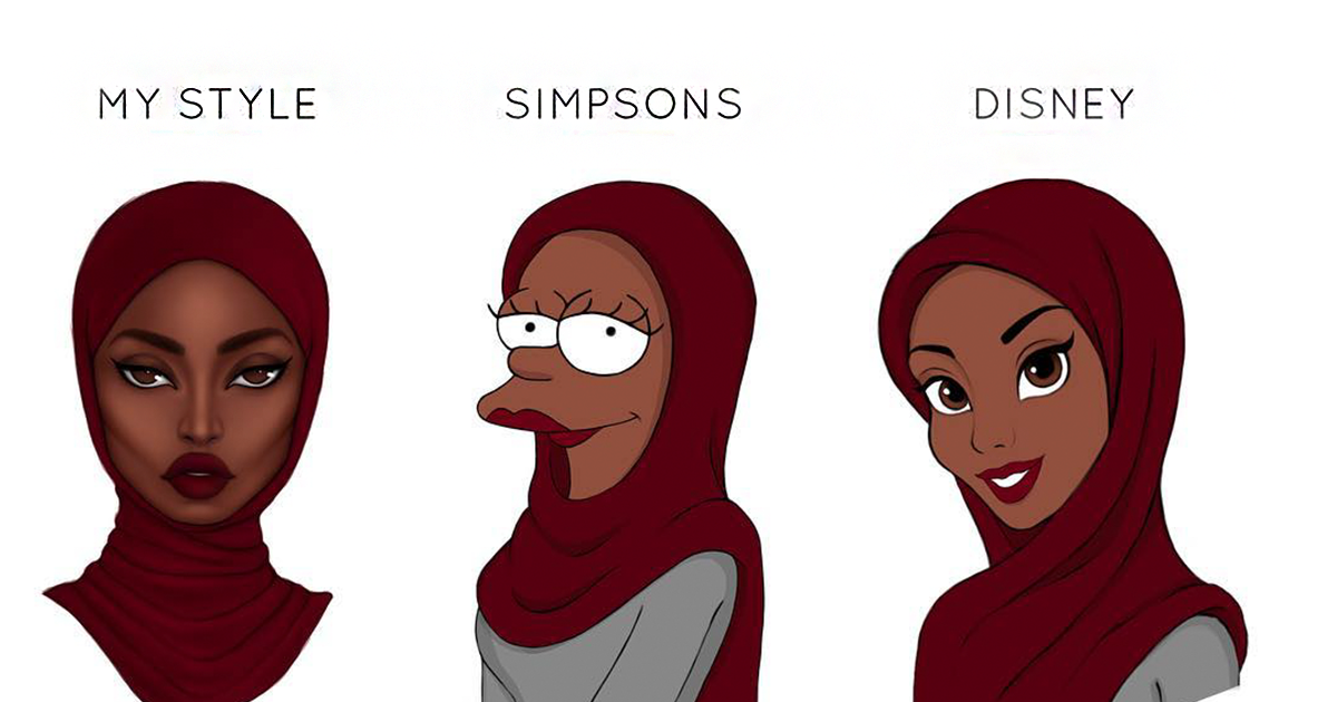 Illustrators Reimagine Their Art With Famous Cartoon Styles