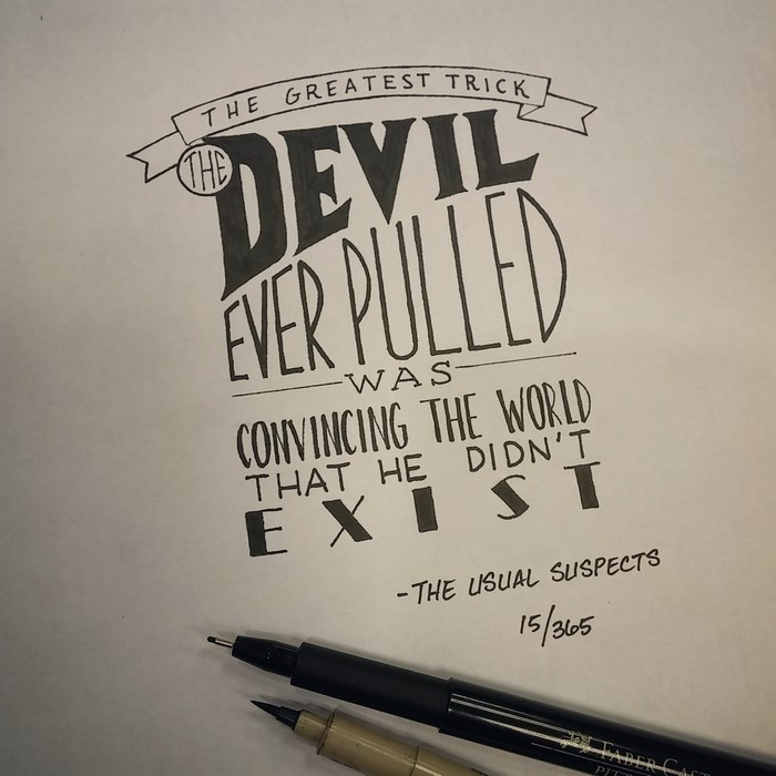 artist writes movie quotes in beautiful calligraphy demilked