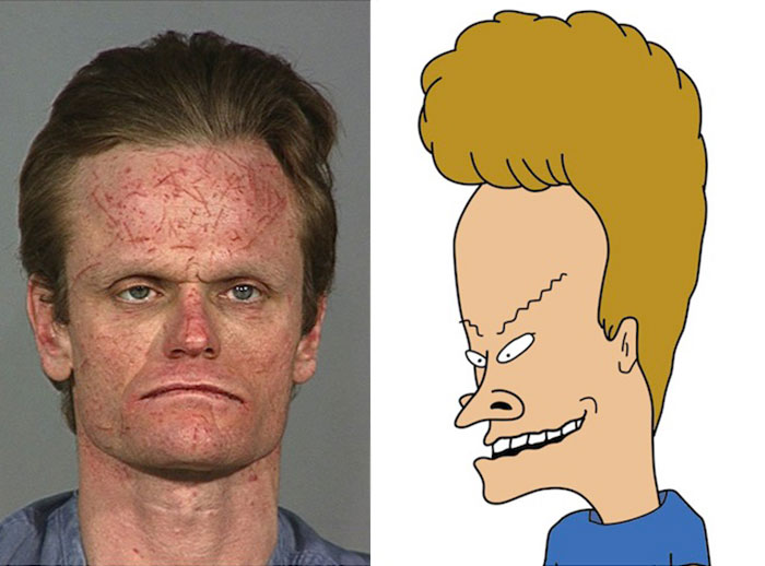 Cartoon Characters Real Life : People who look just like cartoon characters