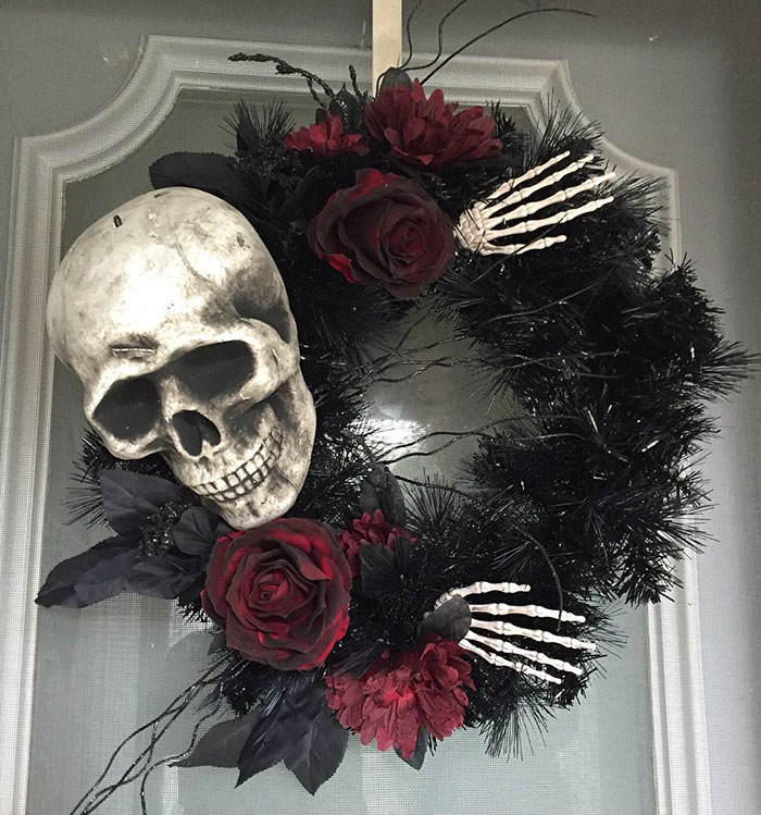 Best Creepy Wreaths Ideas For Halloween