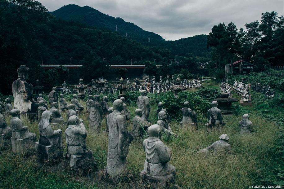 creepy-statues-forbidden-forest-japan-yukisons-ken-ohki-13