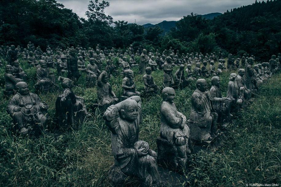 creepy-statues-forbidden-forest-japan-yukisons-ken-ohki-14