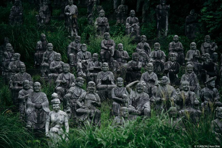 creepy-statues-forbidden-forest-japan-yukisons-ken-ohki-20