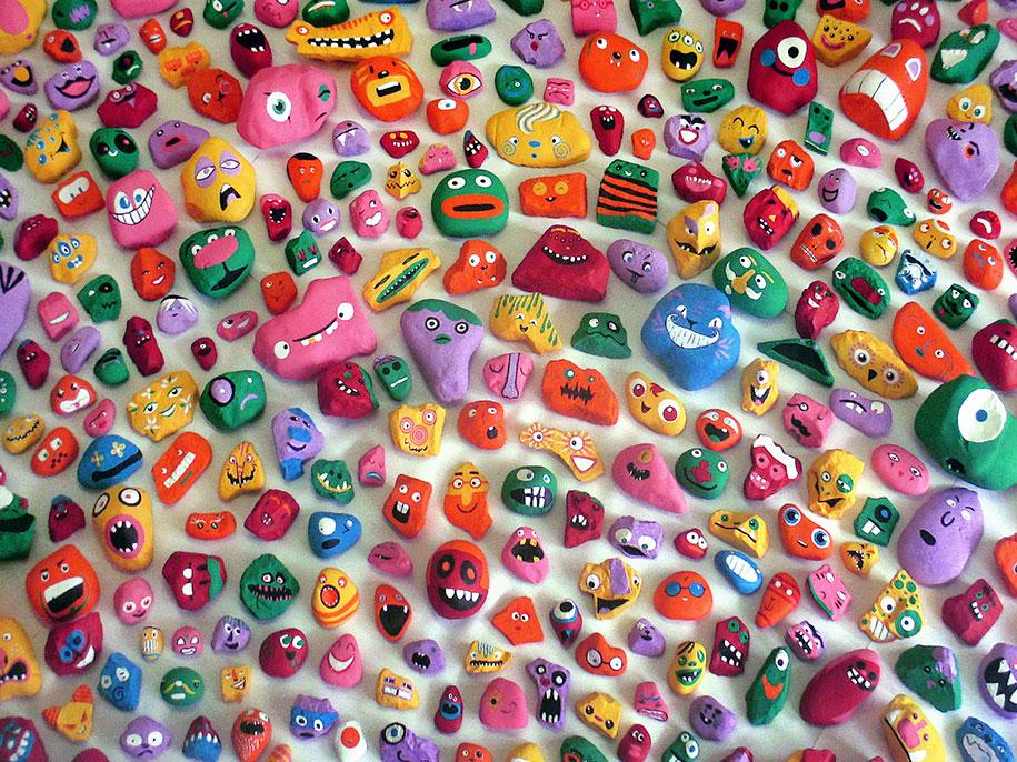 kid-paints-1000-painted-rocks-aaron-zenz-2
