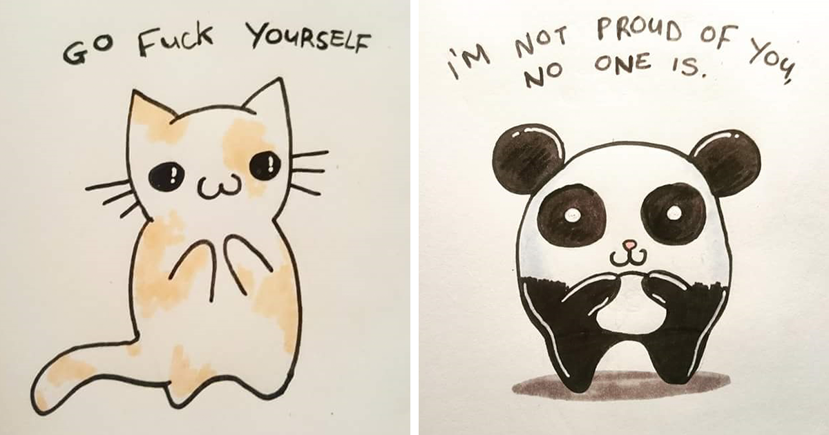 15 Offensive Yet Cute Greeting Cards