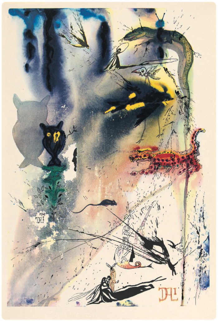 salvador-dali-illustrations-alice-in-wonderland-1