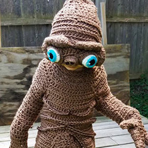 This Mother Creates Unique Crocheted Halloween Costumes For Her Kids