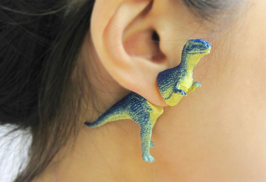 dinosaur-earrings-oooworkshop-2