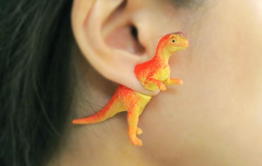 dinosaur-earrings-oooworkshop-3