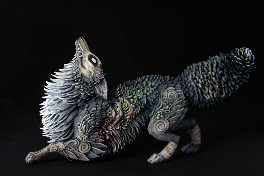 fantasy-animal-sculptures-demiurgus-dreams-evgeny-hontor-1