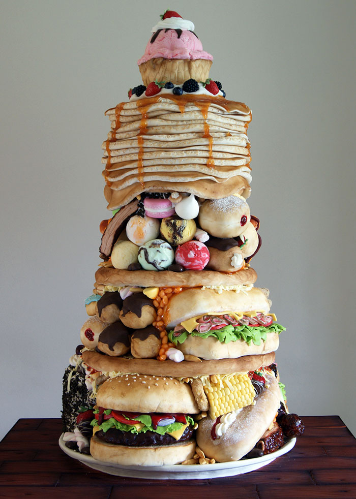 24-Year-Old Baker Makes Cakes That Look Like Junk Food | DeMilked