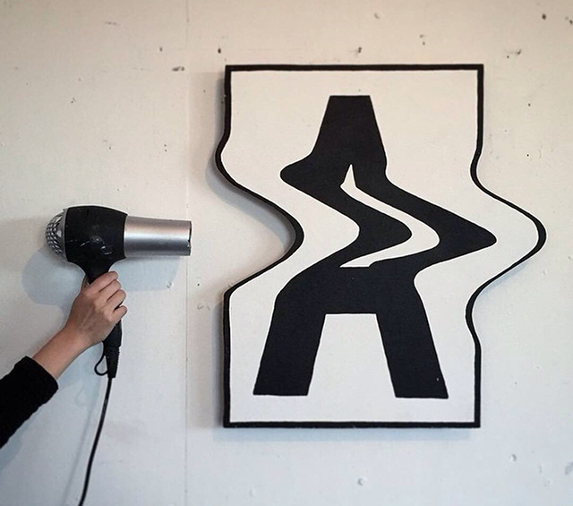 Artist Bends His 2D Letter Art Into 3rd Dimension