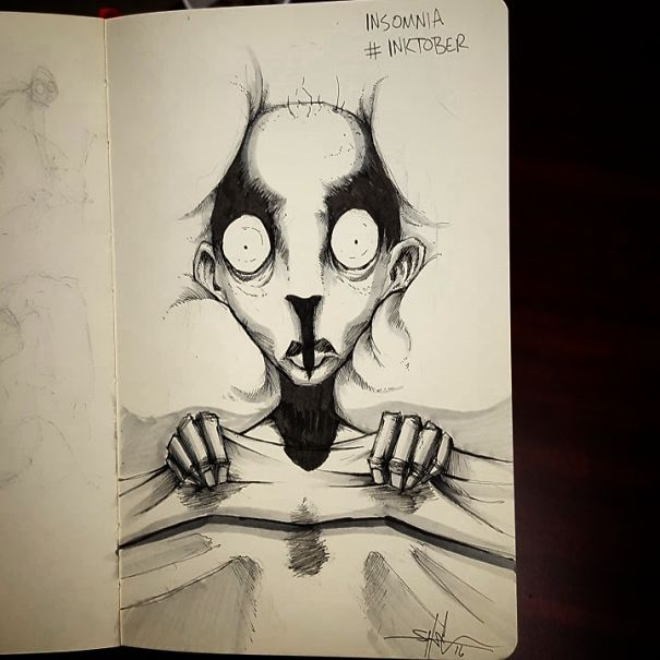 mental-illness-disorders-illustrations-inktober-shawn-coss2