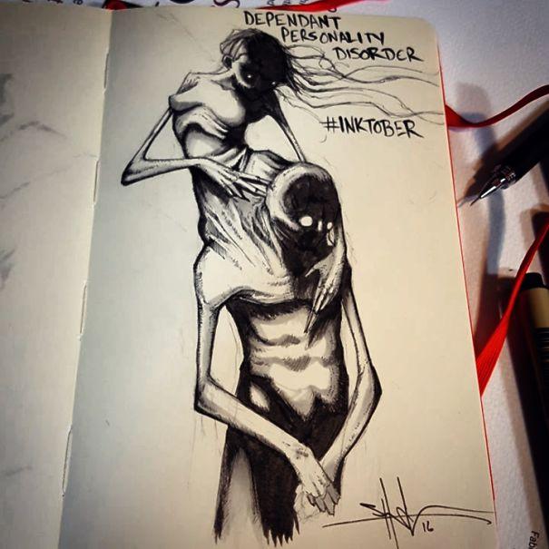 mental-illness-disorders-illustrations-inktober-shawn-coss3