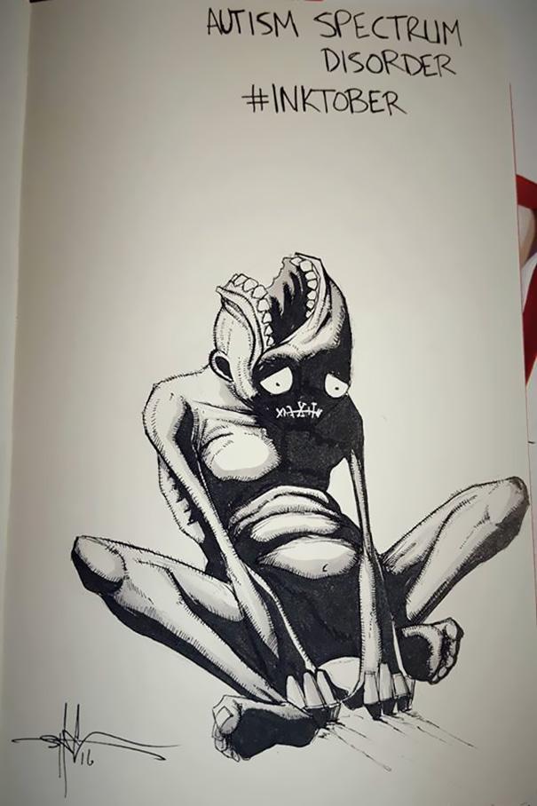 mental-illness-disorders-illustrations-inktober-shawn-coss8