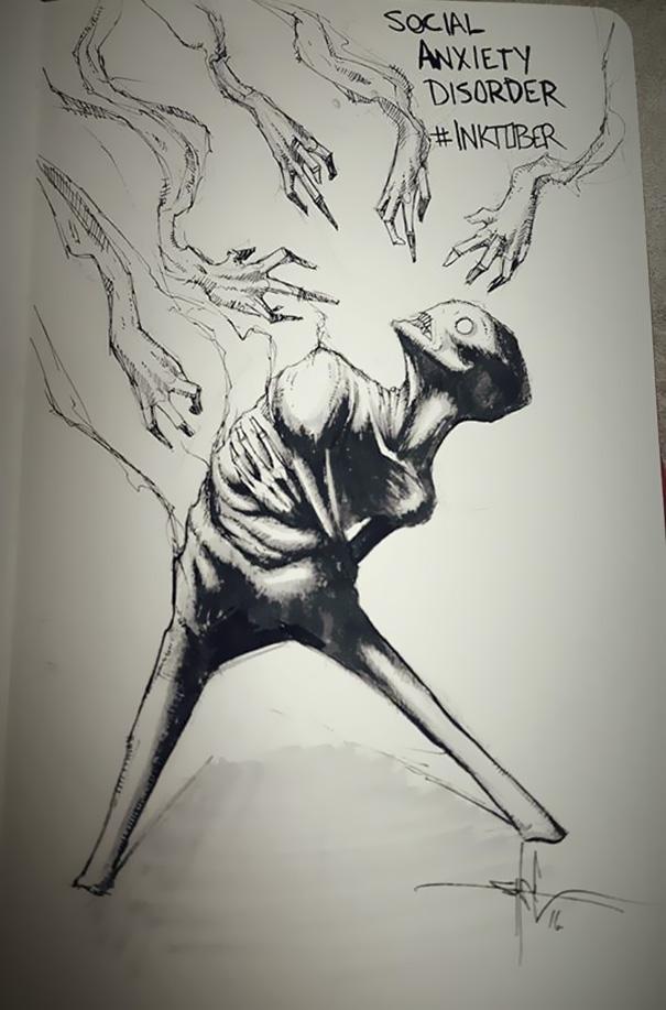 mental-illness-disorders-illustrations-inktober-shawn-coss9