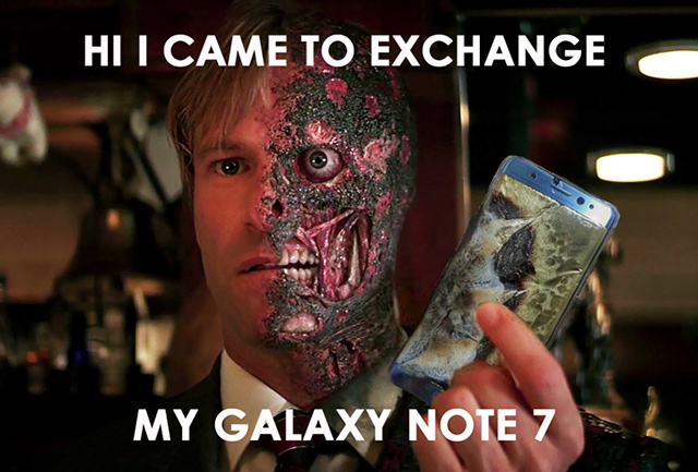 rating indicates the samsung galaxy note 7 novelty fun mobile wi-fi