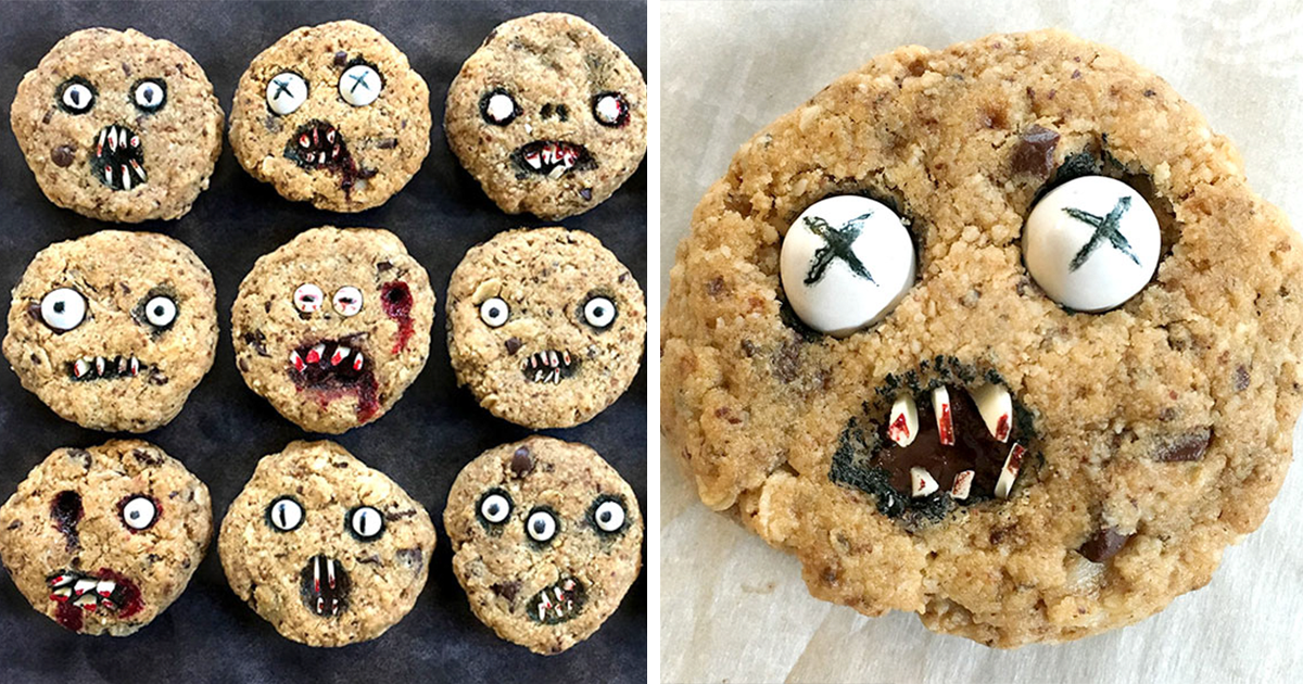 How To Bake Halloween Cookies That Are Too Scary Eat