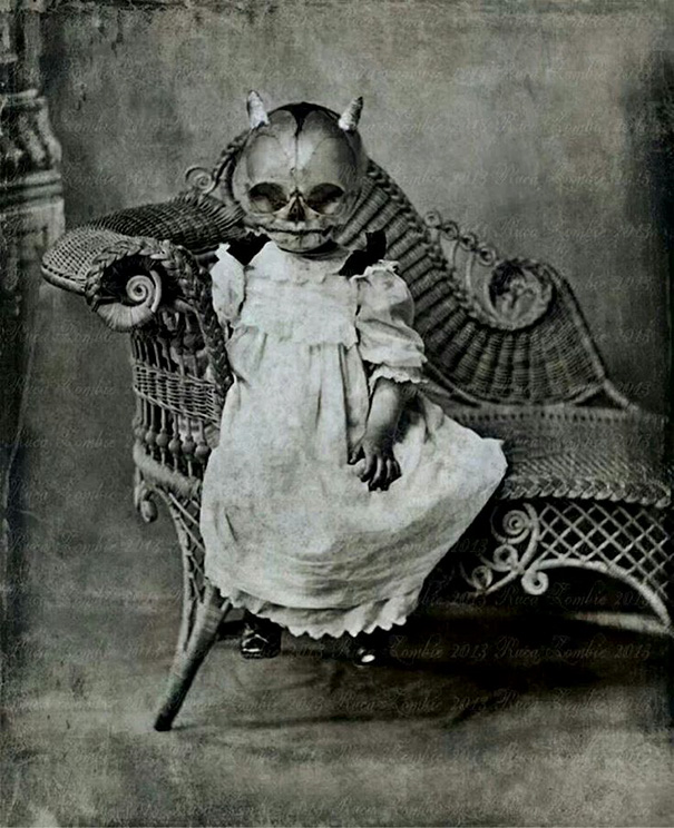 20 Vintage Halloween Costumes That Are Way Creepier Than