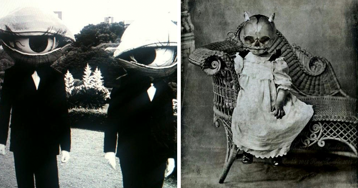 20 Vintage Halloween Costumes That Are Way Creepier Than What You ...