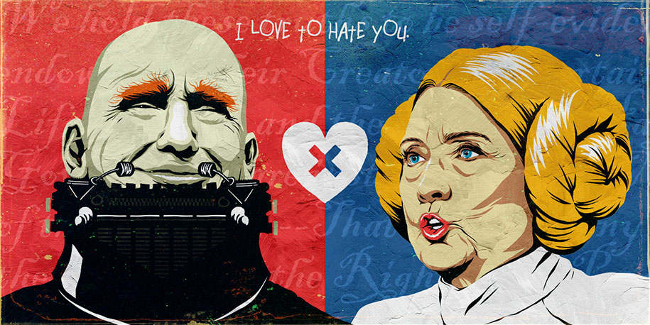 trump-clinton-pop-characters-i-love-to-hate-you-butcher-billy-1