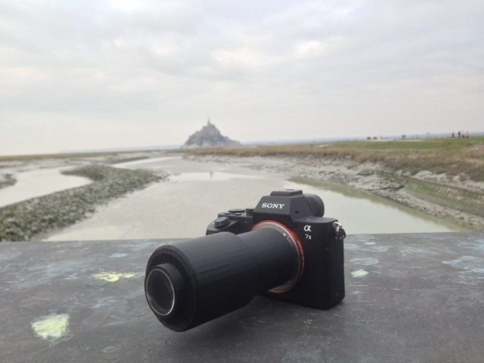 #1 The lens itself