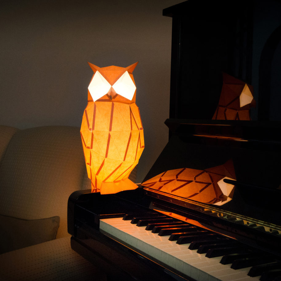 Diy Paper Animal Lamps Turn Your Boring Room Into A Jungle