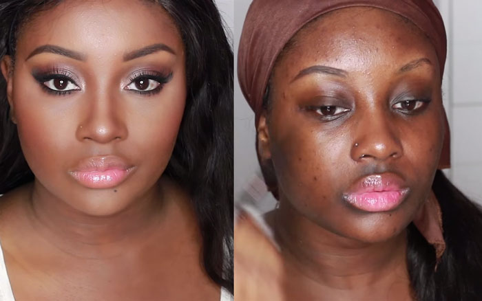 The Power Of Makeup 14 Unbelivable Before And After Shots Of Shocking Makeup Transformations