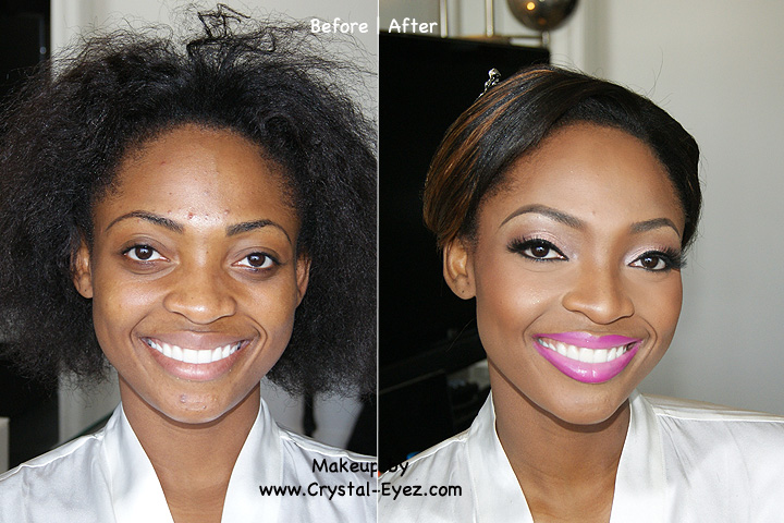 The power of makeup: 14 unbelivable before and after shots ...