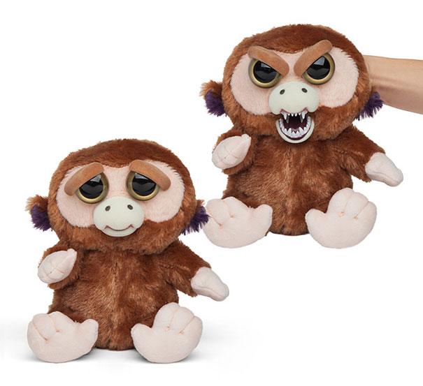 bonito-assustador-recheadas-animals-plush-resolutos-animal de estimação-3