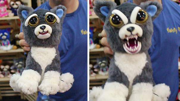 Stuffed Animals That Turn Crazy When You Squeeze Them