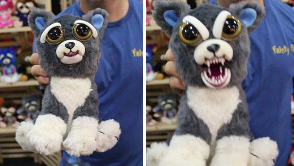 bonito-assustador-recheadas-animals-plush-resolutos-animal de estimação-6